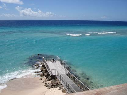 barbados apartments for rent view to the jetty