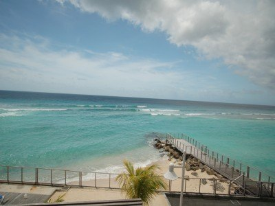barbados condo rental view