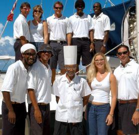 Cool Runnings catamaran crew