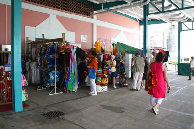 Barbados cruise shopping