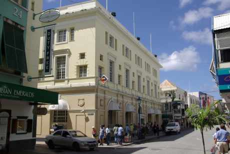 Barbados shopping in the city