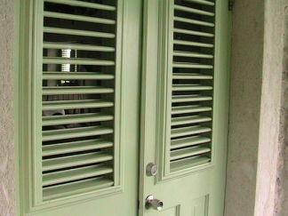 front door to the villa