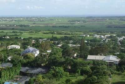 view from gun hill barbados