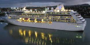 Barbados cruise ship