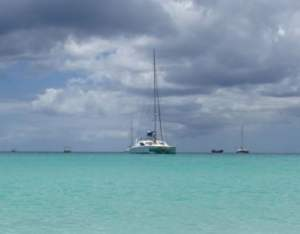 weather in Barbados sailboat